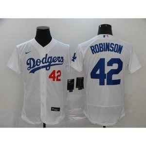 LA Dodgers Jackie Robinson White Jersey